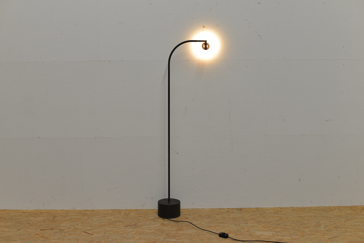 Halo click floor lamp ettore sottsass lampen buma design for Lampen click