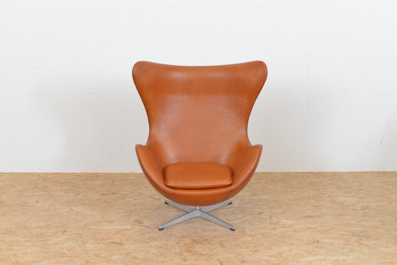 egg chair leder arne jacobsen sofas sessel buma design olten bern z rich schweiz. Black Bedroom Furniture Sets. Home Design Ideas