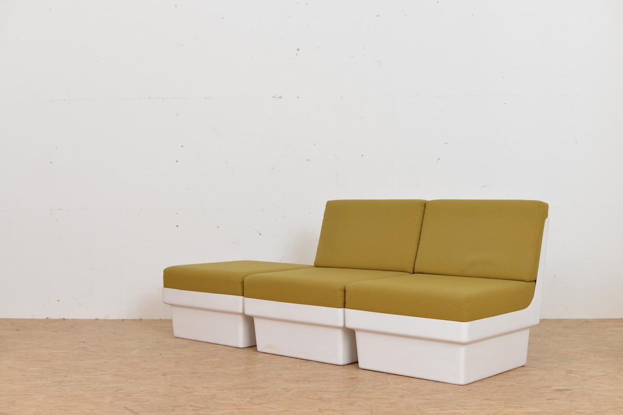 Fiberglas Sofa- Gruppe Unbekannt Sofas/Sessel | Buma Design Olten ...