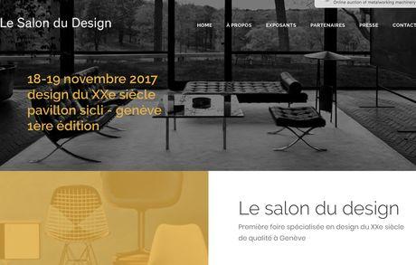 Le salon du design, Genf 18-19 Nov Bildschirmfoto 2017 09 11 Um 17 04 09 Buma Möbelklassiker Vintage-Klassiker und Designermöbel Möbel Olten Zürich Schweiz