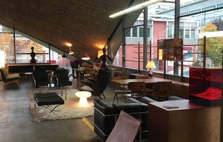 """Impressionen """"Le Salon du Design"""" Img 0855 Buma Möbelklassiker Vintage-Klassiker und Designermöbel Möbel Olten Zürich Schweiz"""