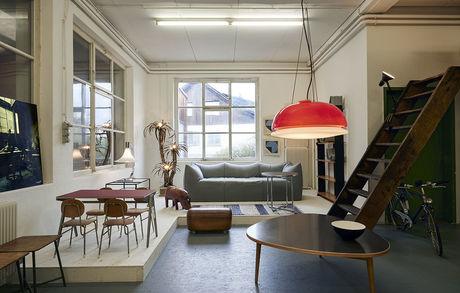 Showroom offen Buma1330 Buma Möbelklassiker Vintage-Klassiker und Designermöbel Möbel Olten Zürich Schweiz