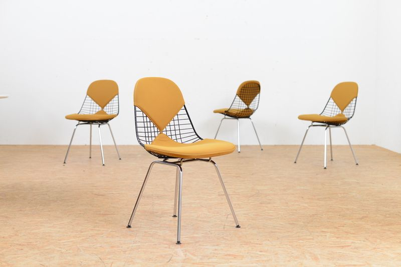 En Wire Designs | Stuhl Set Eames Wire Ray And Charles Eames Stuhle Buma Design