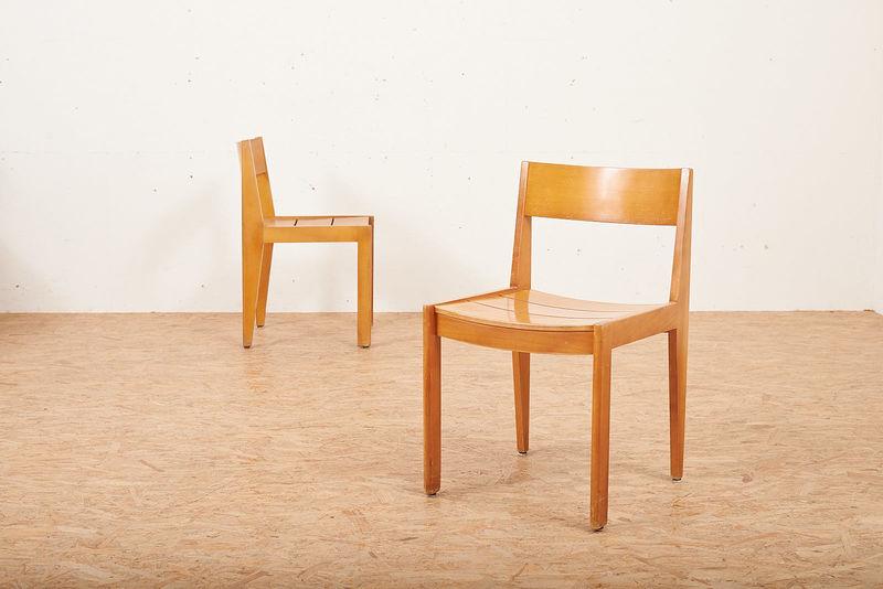 Holzstuhl 266 Martha Villiger Stühle Buma Design Olten Bern